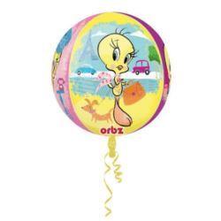 Balon foliowy Orbz - kula Tweety 43x45 cm
