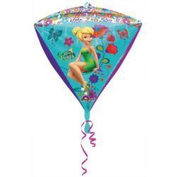 Balon, foliowy diament Dzwoneczek 38x43 cm 1 szt.