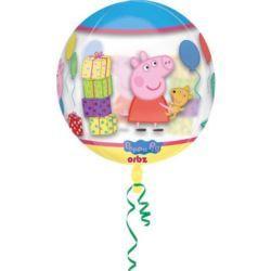 Balon foliowy na hel Świnka Pepa Peppa Pig kula