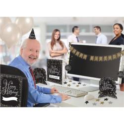 Zestaw do dekoracji biura Sparkling Gold Celebrati