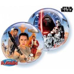 """balony, balony na hel, dekoracje balonowe, balony Łódź, balony z nadrukiem, Balon, foliowy 22"""" QL Bubble Poj. """"Star Wars The F"""
