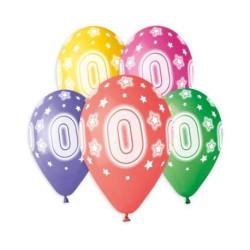 balony, balony na hel, dekoracje balonowe, balony Łódź, balony z nadrukiem, Balony Premium Hel z nadr. 0, 13 cali/ 5 szt.