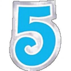 48 Naklejki Cyfra 5
