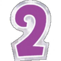 48 Naklejki Cyfra 2
