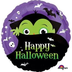 """balony, balony na hel, dekoracje balonowe, balony Łódź, balony z nadrukiem, Standard """"Halloween Drakula"""" balon foliowy okragly"""