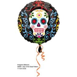 balony, balony na hel, dekoracje balonowe, balony Łódź, balony z nadrukiem, Standard Halloween balon foliowy S40 opakowanie