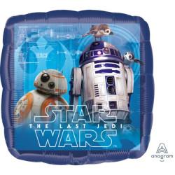 """Standard """"Star Wars The Last Jedi"""", balon foliowy,"""