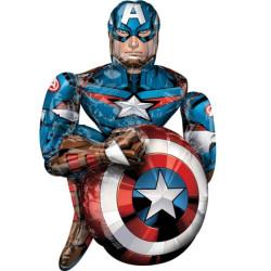 Airwalker Marvel Avengers Captain America balon fo