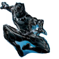 "SuperShape ""Black Panther"", balon foliowy"
