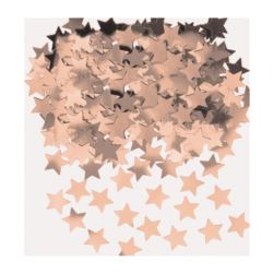 Konfetti Gwiazdki różowe złoto