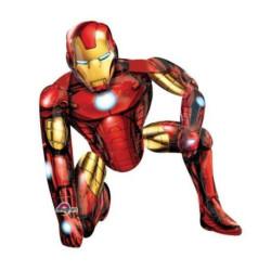 """Balon, foliowy chodzacy """"Iron Man"""" 93 x 116 cm"""