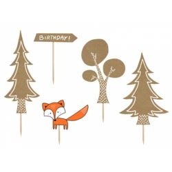 Toppery Woodland, mix