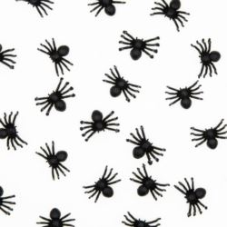 Konfetti Halloween 50 sztuk - pająki