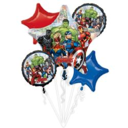 Bukiet balonow Marvel Avengers 5 szt.