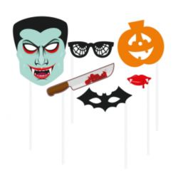 """Rekwizyty do zdjęć """"Halloween"""", 6 elementów KK"""